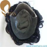 Toupee francese della parte anteriore del merletto del Toupee sottile della pelle