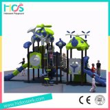 Mittlere Kind-im Freien Plastikplättchen-Spielplatz-Gerät für heißesten Verkauf (HS04202)