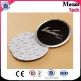 Plaque signalétique en métal gravé