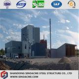 Kundenspezifisches konzipiertes lange Lebensdauer-vorfabriziertstahlkonstruktion-Industriegebäude