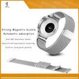 스테인리스 Milanese 루프는 Samsung 기어 S3 국경, 기어 S3 고전적인 시계 줄을%s 시계 결박 악대를 위한 보충 22mm 적합을 끈으로 동인다