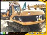 Excavador usado de la oruga 320c, excavador usado de la oruga 320c, excavador usado de la correa eslabonada del gato