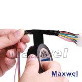 Nastro elettrico della pellicola del PVC di temperatura di 80 gradi