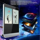 55-Inch-, doppelter Bildschirm-Bekanntmachenspieler, LCD-Panel-Digitalanzeigen-DigitalSignage