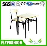 安定した単一学生の机および椅子の学校の教室の家具(SF-76S)