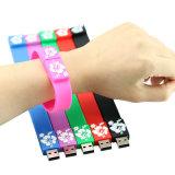 Promoção USB Wristband USB Flash Drive Bracelet