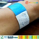 Événement étiquetant le bracelet de papier remplaçable d'identification d'IDENTIFICATION RF