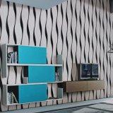 Prix bon marché de gros de papier peint KTV décoration des murs de papier peint lavables en PVC
