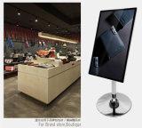 47 - Visualización del LCD del almacén de las compras de la pulgada, haciendo publicidad del jugador, señalización de Digitaces