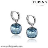 Pendiente cuadrado de 93747 de la manera del Zircon de la joyería cristales de la gota para el oído de la joyería de Swarovski