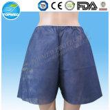 Calças descartáveis da examinação, calças Anorectal não tecidas da endoscopia