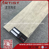jet d'encre en bois du carrelage de 600X150mm 3D pour l'étage et le mur et le paquet