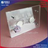 2 Coins du châssis d'acrylique transparente