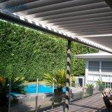 오프닝 지붕 시스템 Pergola 그늘 옥상정원 안뜰 미늘창