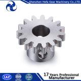Polia de aço inoxidável de aço Spur Gear 1045 personalizada para máquina