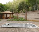 Mergulho 2017 original na cuba quente da casa de campo Home ao ar livre com associação