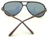 Projeto novo Hotsale Sunglass plástico da qualidade Fqp162123, Ce FDA da reunião dos óculos de sol UV400