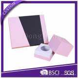 Design de tampa simples Caixa rígida de pacote de cosméticos de papel extravagante