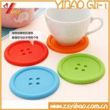 Esteira resistente ao calor colorida feita sob encomenda do copo do silicone