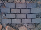 De zwarte Grijze Tegels van het Mozaïek van het Basalt