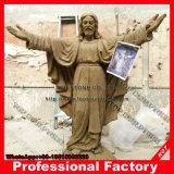 Naturmarmorjesus-Skulptur für Kirche