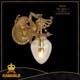 호화스러운 프랑스 구리 금관 악기 고대 벽 램프 (TB-0806-1)