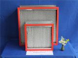 Filtro de alta temperatura del panel del papel de cristal HEPA de fibra de Resistants
