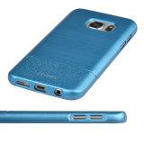 C & T Ultra-Thin Cubierta de la caja Drawbench Cuero de la PU Grain Hard PC Case Cubierta de resistencia a la caída para Samsung Galaxy S7