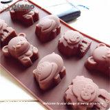 Прессформа торта силикона Chocalate резиновый для микроволновых печей, замораживателей и судоек