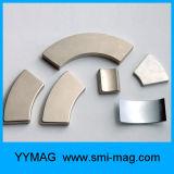De sterke Ventilator Gevormde Magneet van de Boog van het Neodymium van het Segment