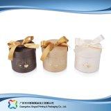 Embalaje de papel de regalo de lujo Tubo/ Joyería Anillo/ caja de embalaje (XC-PTP-032)