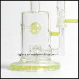 Slyme 녹색 Toro 제트기 Perc Leprechaun 연기가 나는 수관 벌집 한덩어리 석유 굴착 장치 유리