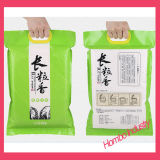 Sachet en plastique personnalisé de riz/sachet en plastique de nourriture de sac d'empaquetage en plastique