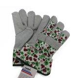 Последуйте за напечатанными прочными кожаный перчатками