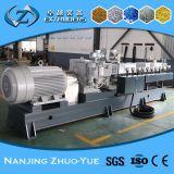 Ce e ISO9001 Zhuoyue plástico Granulados Fazendo Extrusora de parafuso gêmea