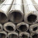 Rostfreier einzelner umsponnener flexibles Metalschlauch