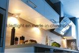 三角形LEDの食器棚ライト