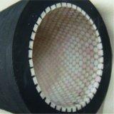 Tubo flessibile di gomma allineato di ceramica resistente all'uso nero