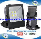 Yaye 18 luzes de inundação ao ar livre do competidor do diodo emissor de luz do preço 250W do melhor Sell com garantia dos anos CREE/MW/Ce/RoHS/5