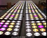 段階軽い25*10W 5X5 RGBW 4in1 LEDのビームマトリックスライト