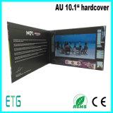 Brochura de vídeo TFT LCD de 10,1 polegadas para publicidade