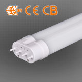 UL & FCC & Ce Listed 120lpw givré LED 2g11 tube avec tension mondiale