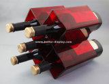 Freier Plastikwein-Glas-Verpackungs-Kasten