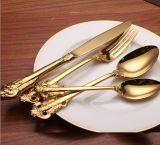 Международного золота из нержавеющей стали столовые приборы