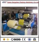 Rajando y máquina que raja tejida PP de la tela de la máquina el rebobinar