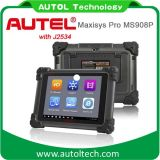 Los 2016 FAVORABLE Ms908p de las herramientas de diagnóstico de Autel Maxisys del explorador FAVORABLE ECUs programador de diagnóstico automotor original de Autel Maxisys