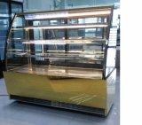 빵집 상점을%s 공기 냉각 유형과 단 하나 온도 작풍 싱크대 케이크 전시 진열장