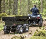 1500kgs/1.5t Nutzlast-Bauernhof-Schlussteil/Kipper-Schlussteil/Diensthydraulischer Kipper des schlußteil-W/sich neigen Einheit/elektrischer hydraulischer Kipper geschleppt durch ATV/Quad/UTV