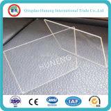 vidrio de flotador claro de cristal de /Ultra del hierro inferior de 3-19m m