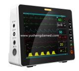 El Ce de Ysd18f aprobó el monitor paciente portable del multiparámetro de 7 pulgadas